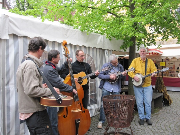 Sindelfingen, Germany - Handwerkermarkt, May 2010