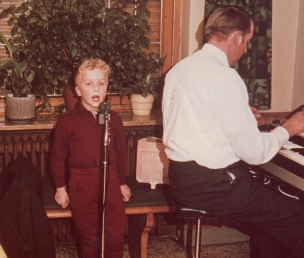 Long time ago (1971), but music and singing was my first love!