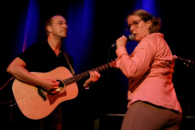 Robert Artley with Hildegart Scholten, KGB, Arttheater Cologne, 21st April 2014