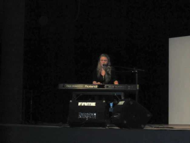 Sarah on stage @ Jugend musiziert 2016