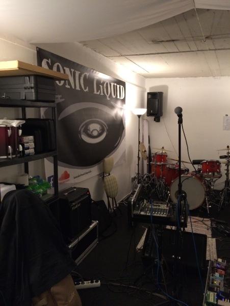 SONIC LiQUID Rehearsal Room !