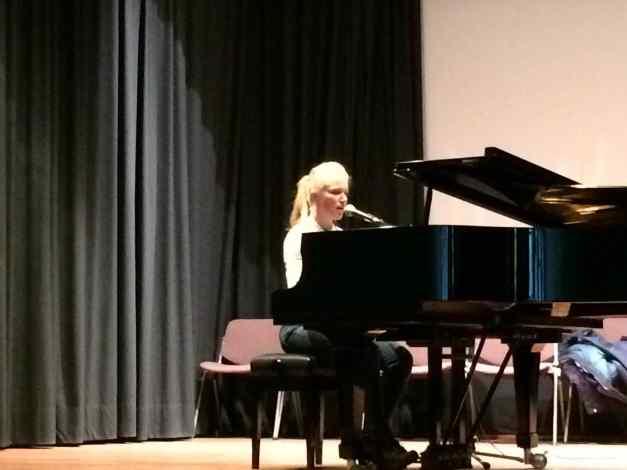 Sarah Artley @ Istituto Italiano di Cultura - Concert 28th April 2016