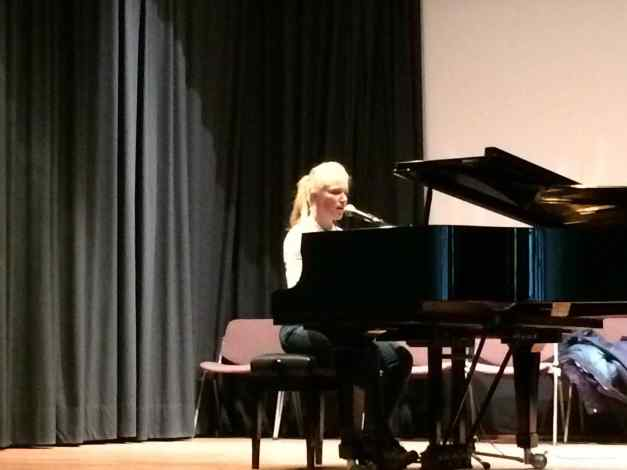 Sarah Artley @ Istituto Italiano di Cultura - Concert 28th April 2016