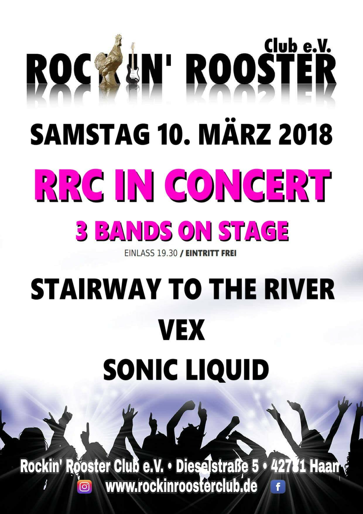 Concert with SONIC LiQUID @ Rockin' Rooster Club, Haan