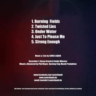 SONIC LiQUID - EP Cover - back